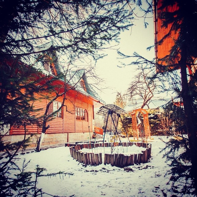 Winter in Yaroslava hotel